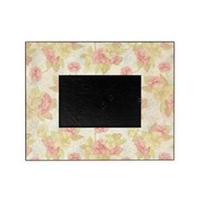 Pretty Pink Flowers Picture Frame