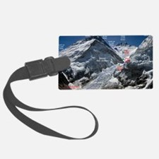 Mt. Everest Southeast Ridge Rout Luggage Tag