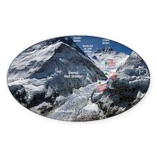Mt. Everest Southeast Ridge Route M Decal