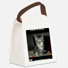 Pixie - Love is blind Canvas Lunch Bag