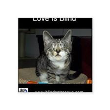 """Pixie - Love is blind Square Sticker 3"""" x 3"""""""