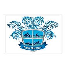 Lake Norman Splash Logo - Postcards (Package of 8)