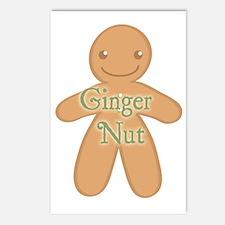 Ginger Nut Postcards (Package of 8)