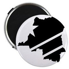 DR Congo Flag Knockout Magnet
