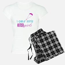 I Only Date Kiter Girls Pajamas