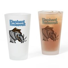 Elephant Roosevelt Drinking Glass