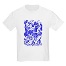 Blue Multidragon T-Shirt