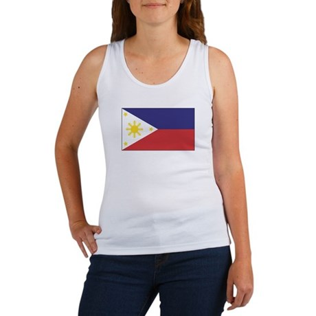 Philippine Flag Women's Tank Top