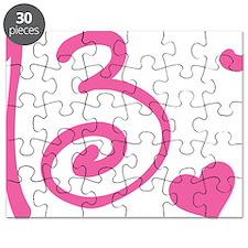 13.1 Curly Half Marathon Puzzle