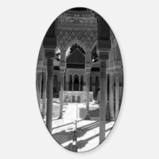 The Alhambra Sticker (Oval)