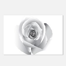 White Rose Postcards (Package of 8)