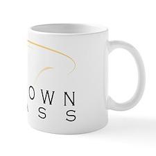 Midtown Brass Logo White Mug