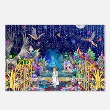Secret Garden Fractal Col Postcards (Package of 8)