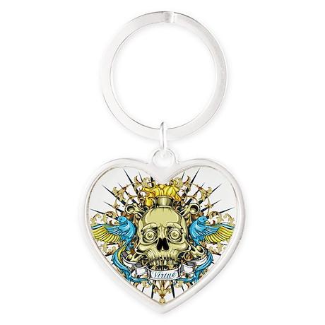 Virtue Heart Keychain