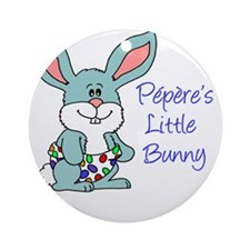 Peperes Little Bunny Round Ornament