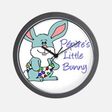 Peperes Little Bunny Wall Clock
