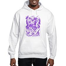 Multidragon Purple Hoodie