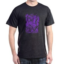 Multidragon Purple T-Shirt