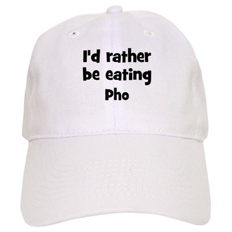 Rather be eating Pho Cap