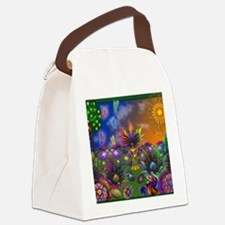 Apo Rainbow Garden Canvas Lunch Bag