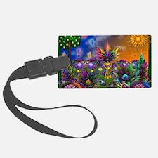 Apo Rainbow Garden Luggage Tag