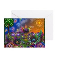 Apo Rainbow Garden Greeting Card