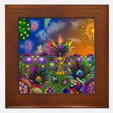 Apo Rainbow Garden Framed Tile