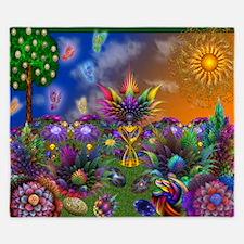 Apo Rainbow Garden King Duvet