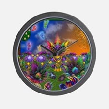 Apo Rainbow Garden Wall Clock