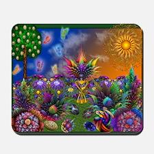 Apo Rainbow Garden Mousepad