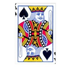 King of Spades Postcards (Package of 8)