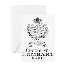 Chocolat Lombart Greeting Card
