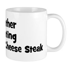 Rather be eating Philadelphi Mug