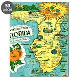 Florida map Puzzles