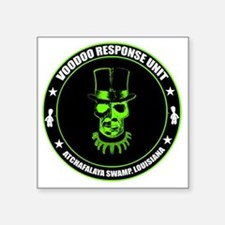"voodoo response unit Square Sticker 3"" x 3"""