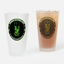 voodoo response unit Drinking Glass