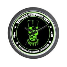 voodoo response unit Wall Clock