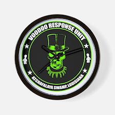voodoo response unit Wall Clock