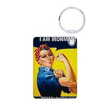Rosie Ironman Keychains