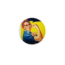 Rosie Ironman Mini Button