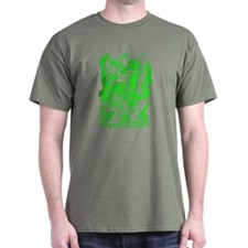 Green Multidragon T-Shirt