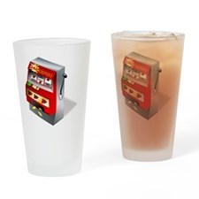Slot Machine Drinking Glass