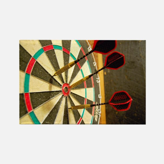 Darts in a Dartboard Magnets