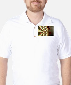Darts in a Dartboard T-Shirt