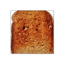 "Toast Square Sticker 3"" x 3"""