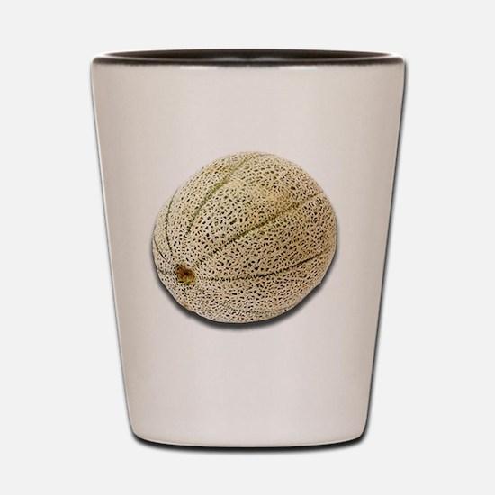 Cantaloupe Shot Glass