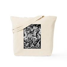 Pale Multidragon Tote Bag