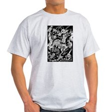 Pale Multidragon T-Shirt