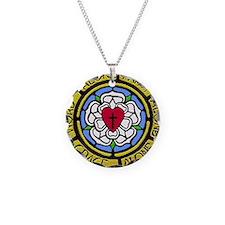 Grace Faith Word Car Magnet Necklace