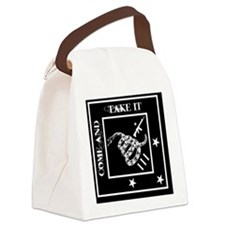 Come and Take It - Black Diamond Canvas Lunch Bag